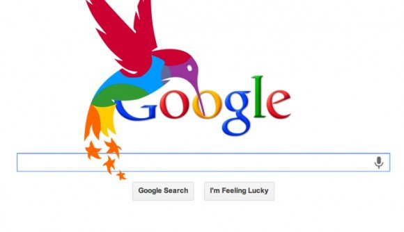 Google website, Hummingbirds update